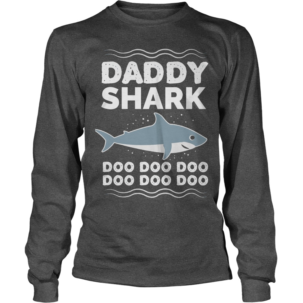 Daddy Shark Doo Doo Doo Shirt, Youth Tee, Ladies Tee