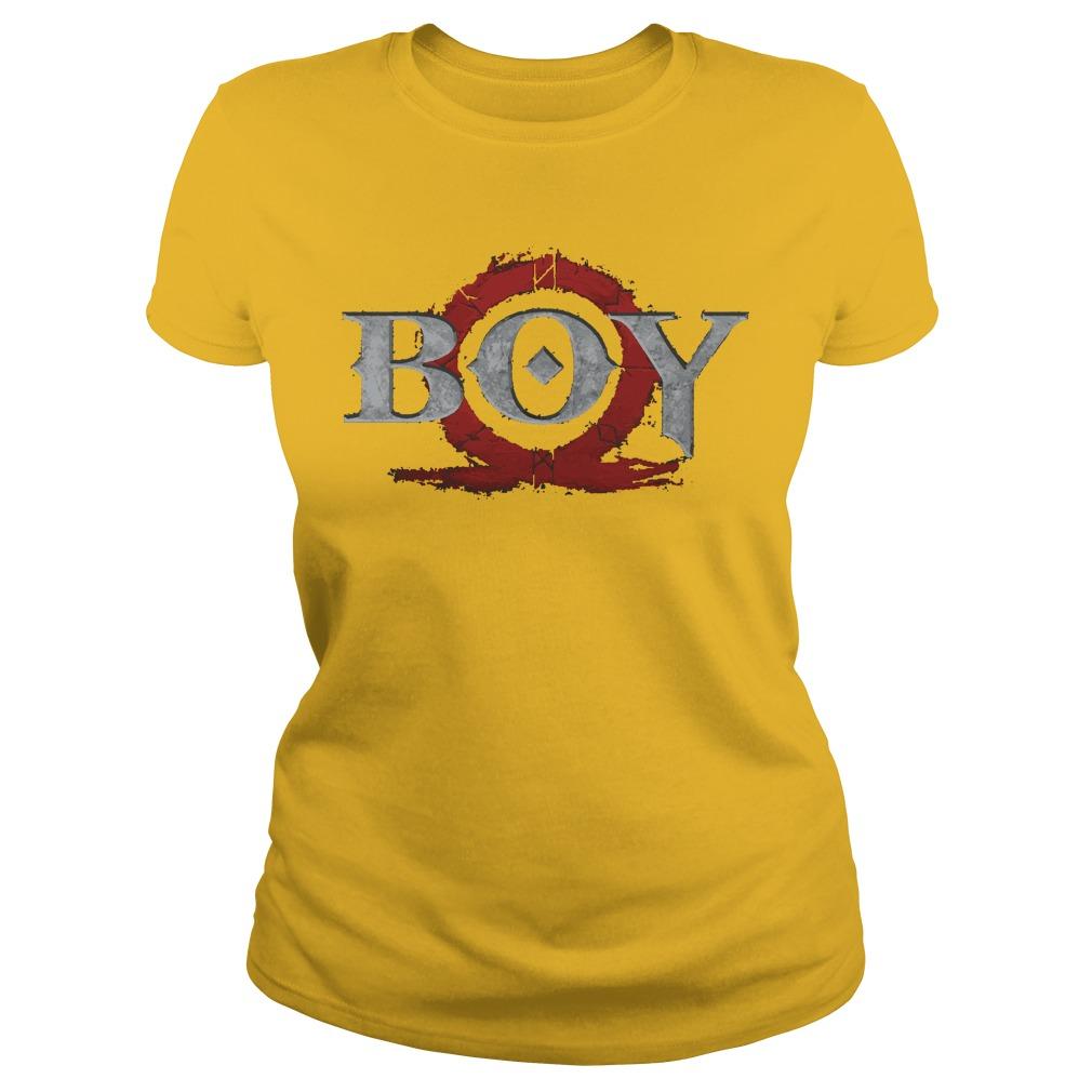 God of War Boy shirt Ladies Tee