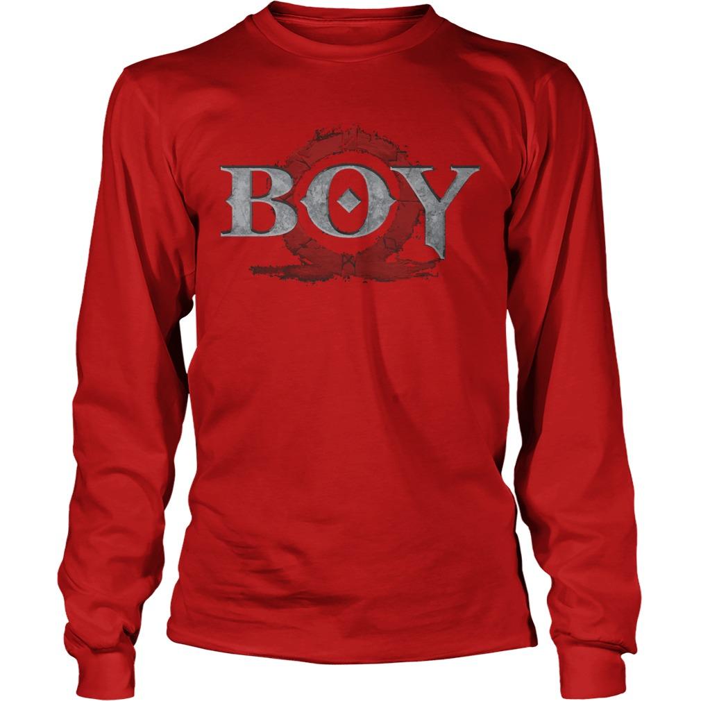 God of War Boy shirt Unisex Longsleeve Tee