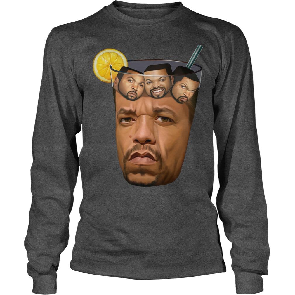 Ice T Ice Cube SHIRT, Unisex Longsleeve Tee, Sweat Shirt