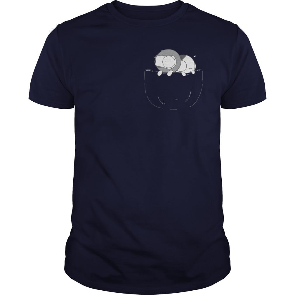 Pocket Catana and John shirt, Unisex Longsleeve Tee, Ladies V-Neck