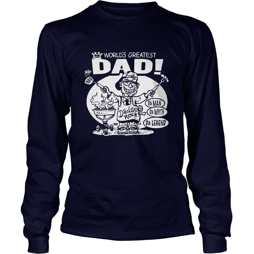 World's Greatest Dad long sleeve tee