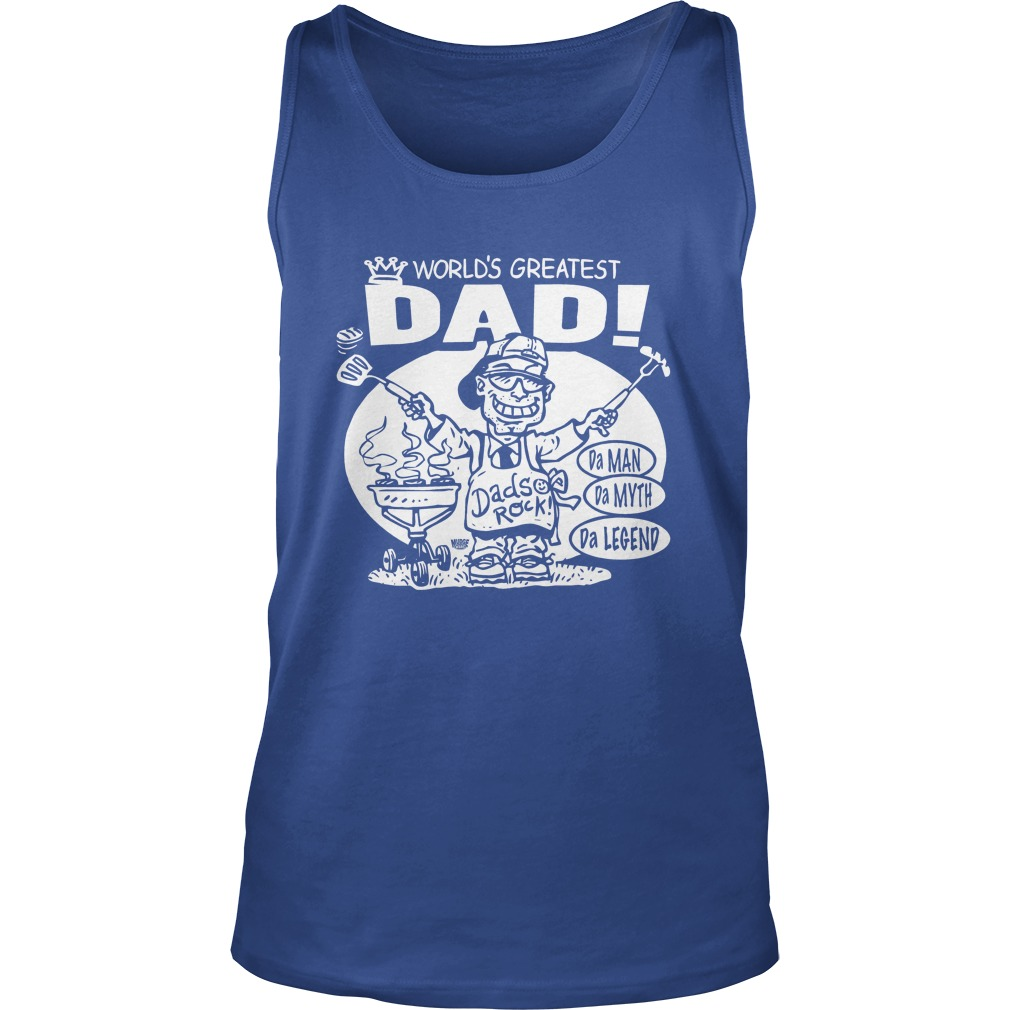 World's Greatest Dad tank top