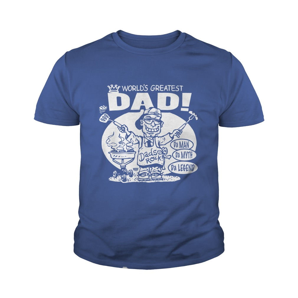 World's Greatest Dad youth tee
