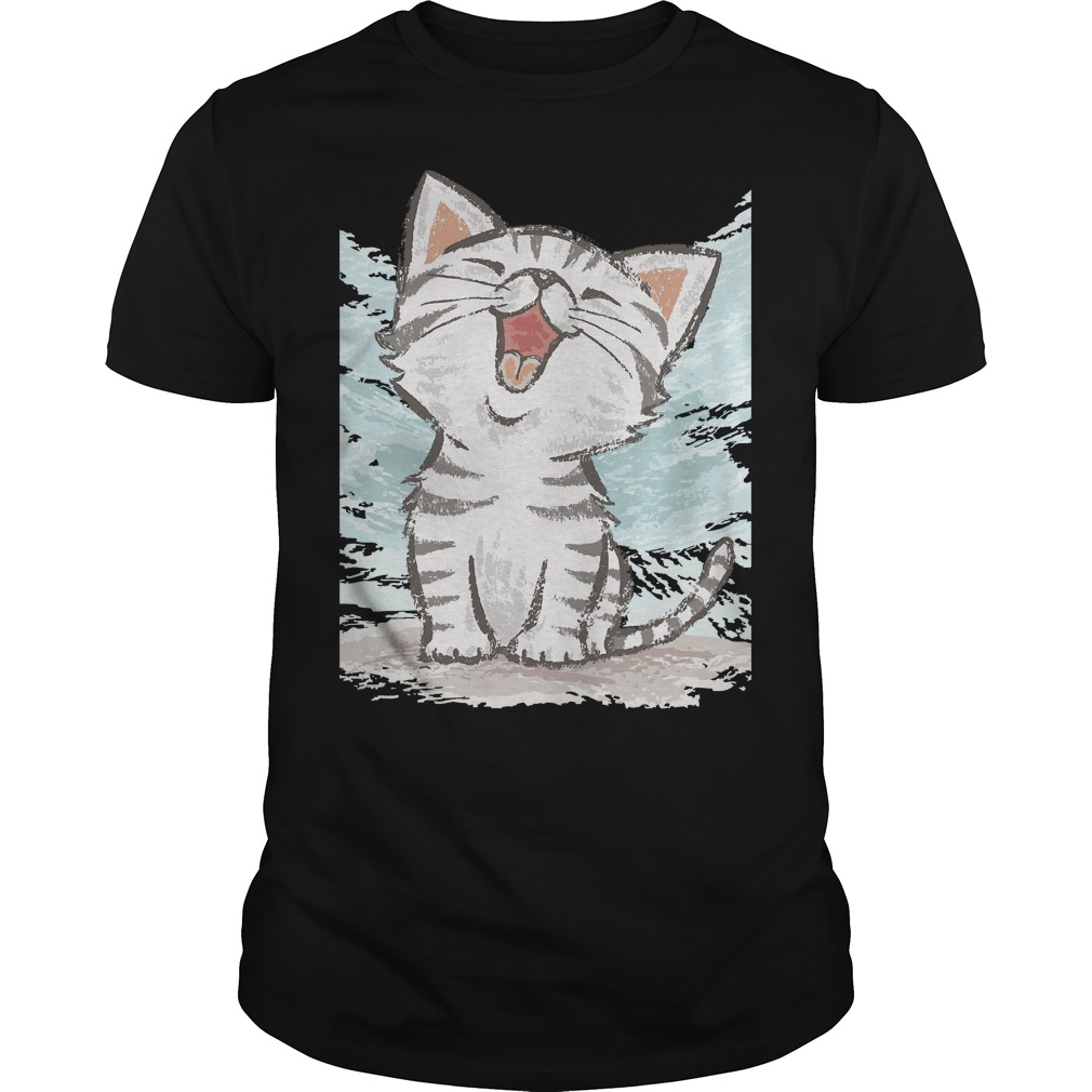 American Shorthair Happy Shirt, Sweat Shirt, Bella Flowy Tank