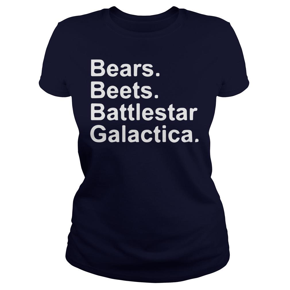 Bears beets battlestar galactica shirt, hoodie, lady tee