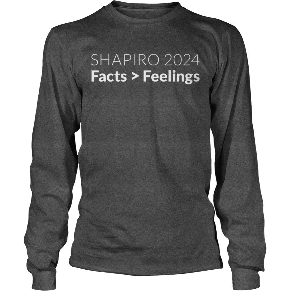Ben Shapiro 2024 facts feelings shirt, hoodie, lady tee