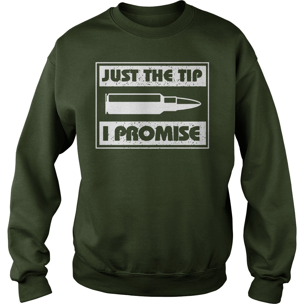 Just the tip i promise shirt, lady tee, sweat shirt