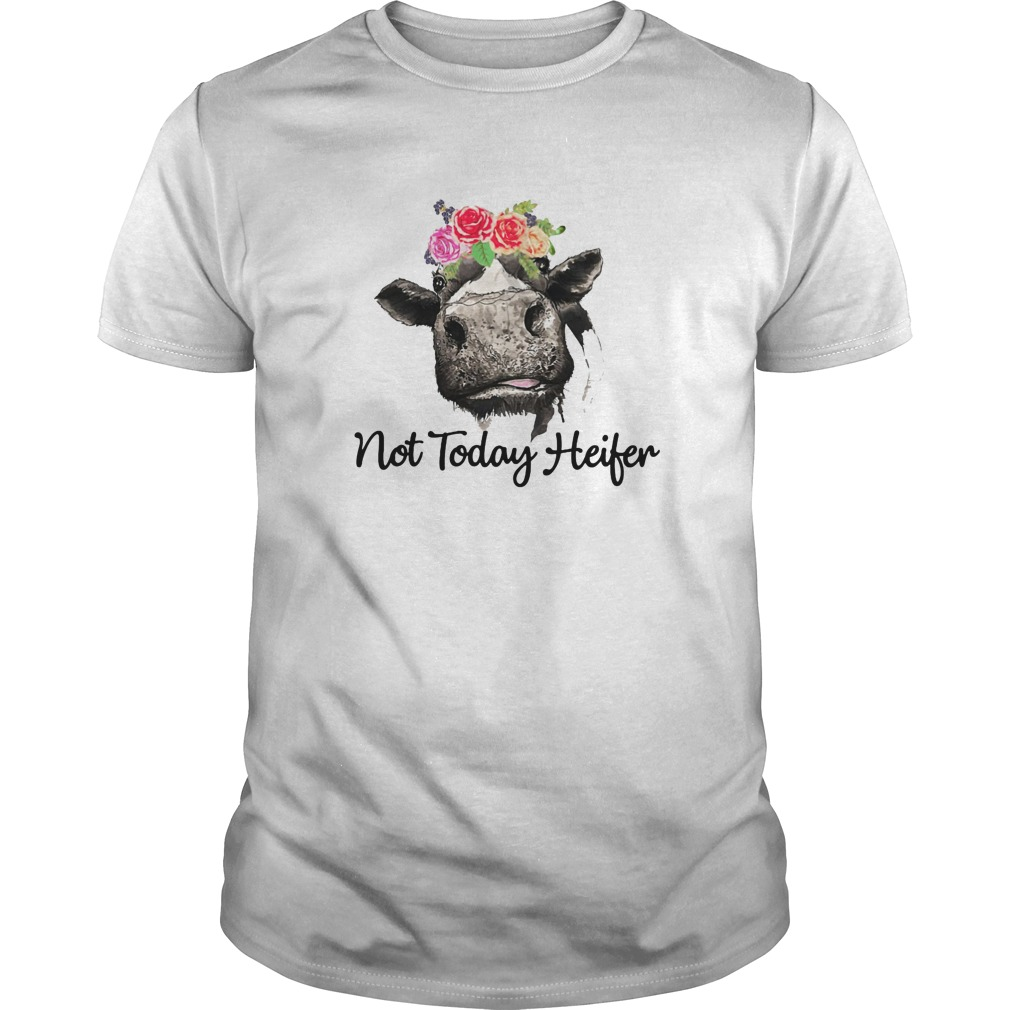 Not today heifer shirt, guy tee, sweat shirt
