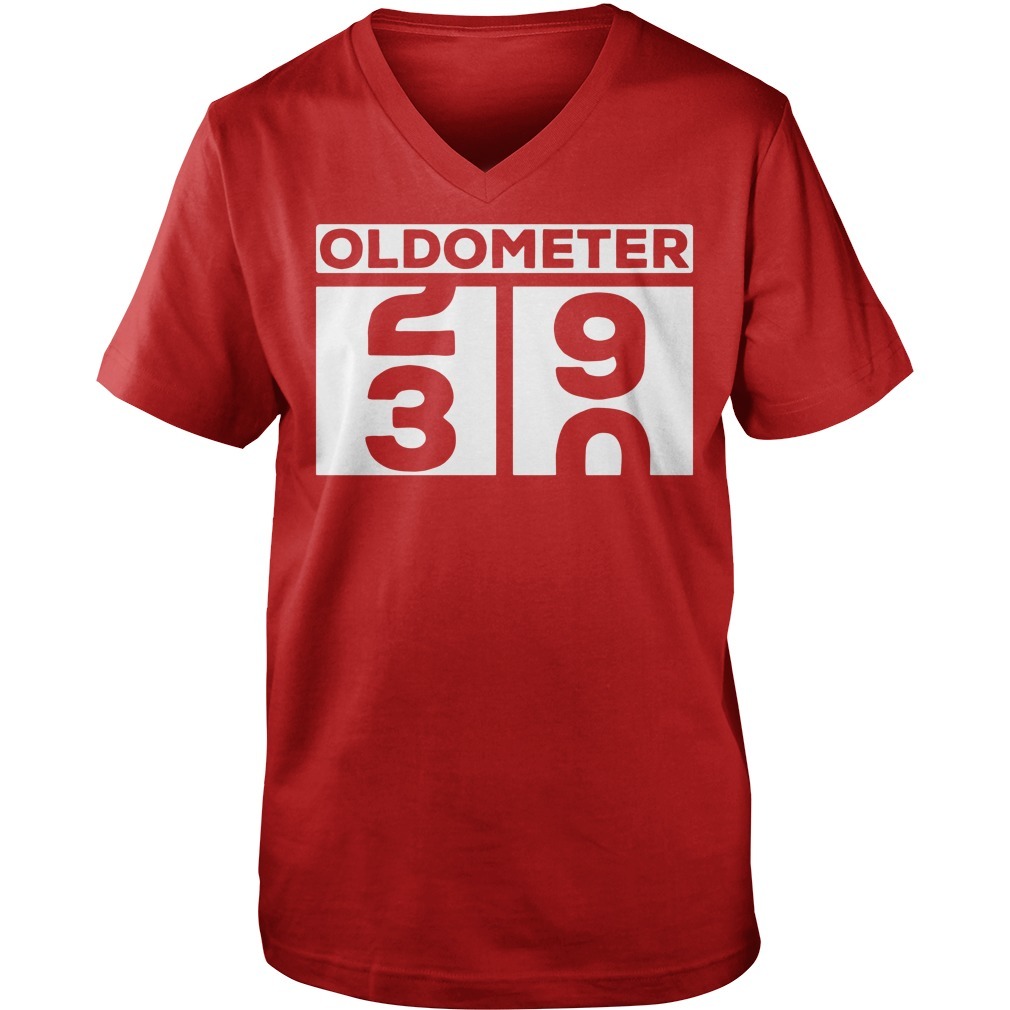 Oldometer 30th Birthday Shirt Lady Tee Guy