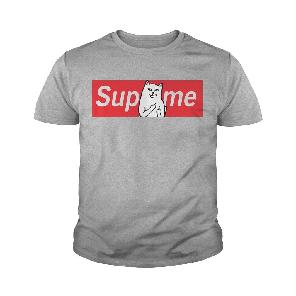 Supreme Cat Jerk Shirt, Sweat Shirt, Unisex Tank Top