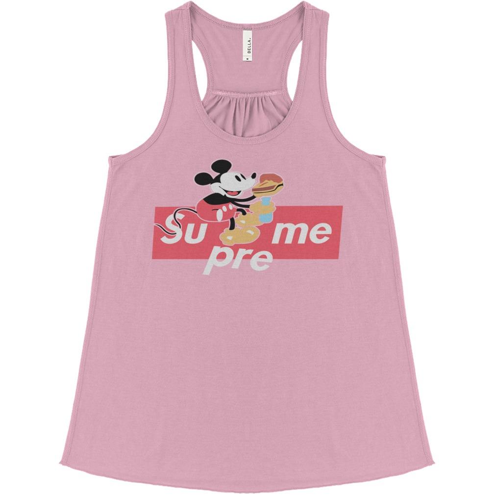 Supreme Mickey Mouse Shirt, Bella Flowy Tank, Hoodie