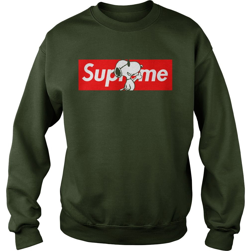 Supreme Snoopy Shirt, Youth Tee, Sweat Shirt, Lady V-Neck