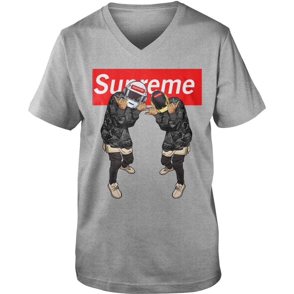 Supreme Star Wars Shirt Guy V Neck Lady Tee