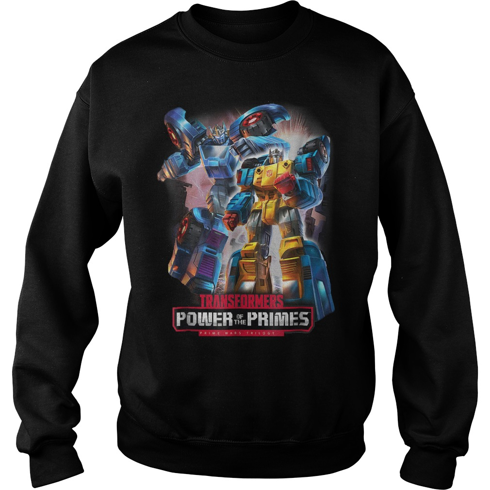 Transformers power of the primes prime wars shirt, lady tee, sweat shirt