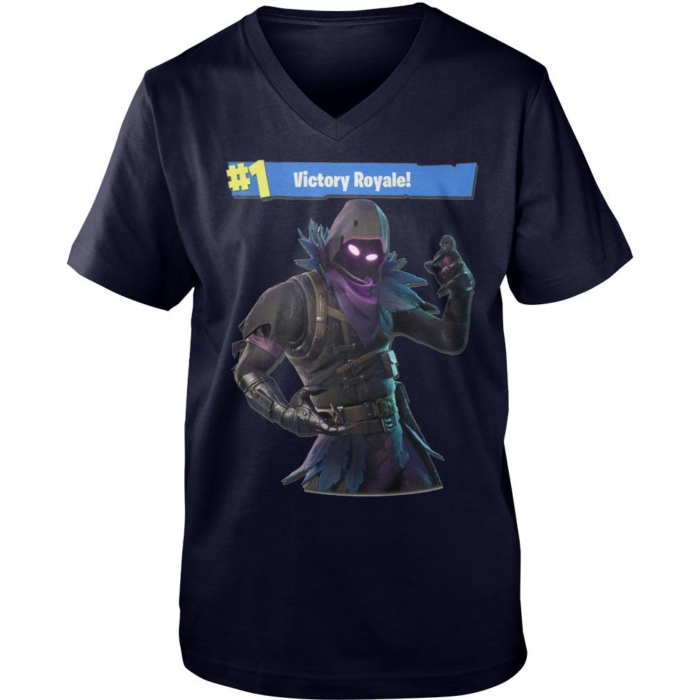 Victory Royale Fortnite Raven Shirt, Guy V-Neck, Sweat Shirt