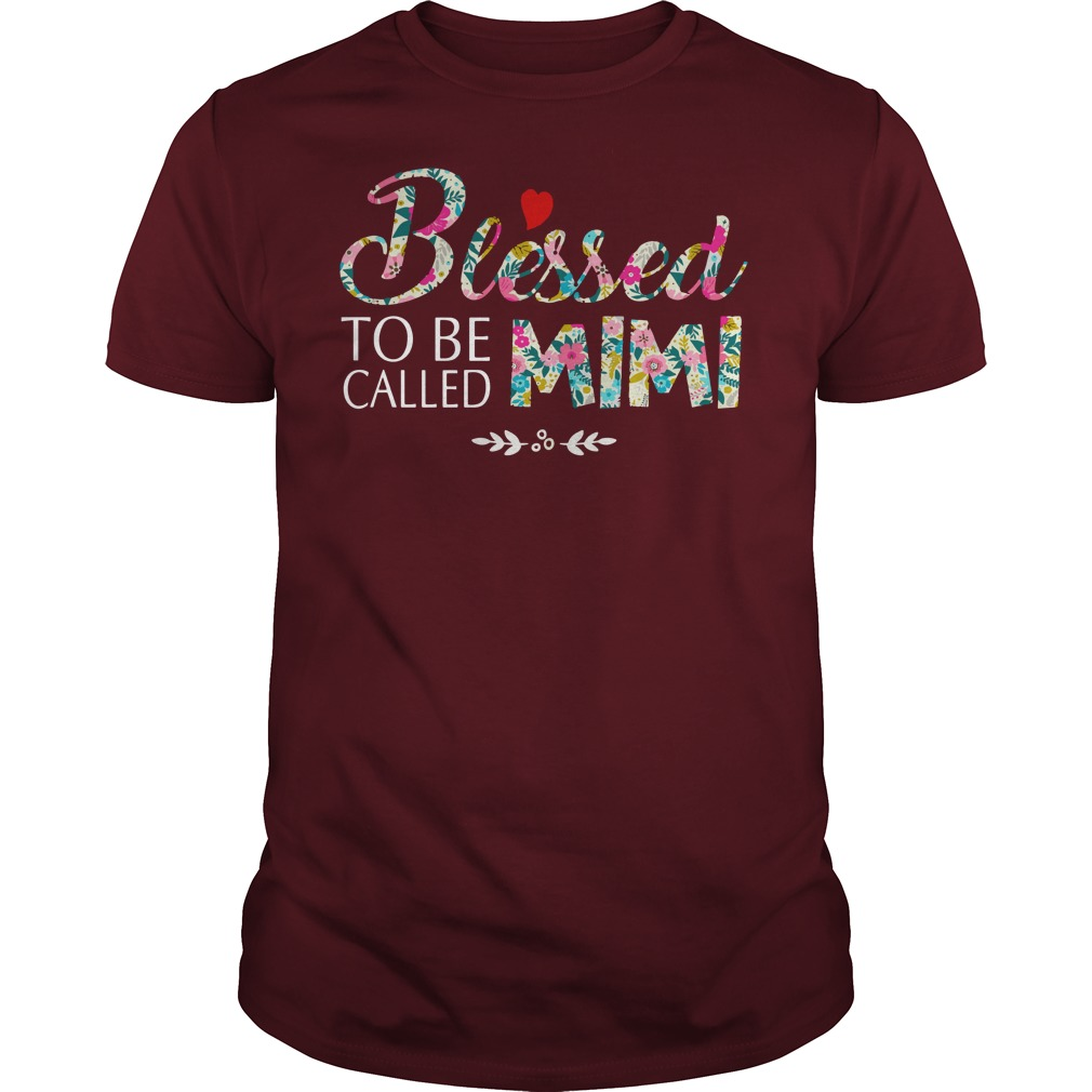 Blessed to be called mimi shirt guy tee