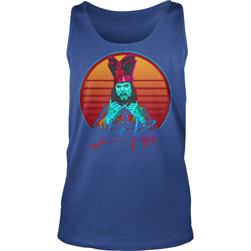 David Lo Pan Big Trouble in Little China shirt unisex tank top