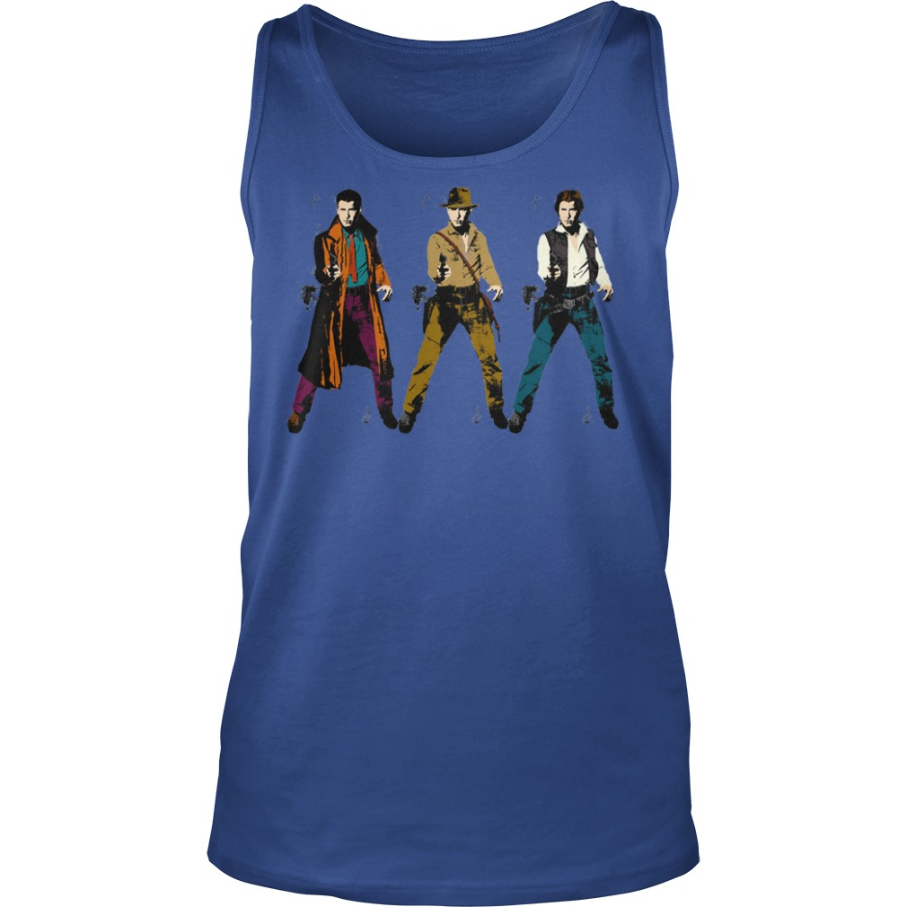Harrison Tri-Ford shirt unisex tank top - Star Wars Harrison Ford shirt