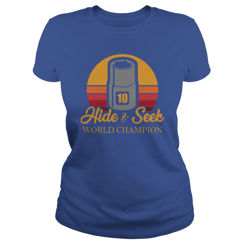 New version Hide and Seek World Champion shirt, lady tee, Hide and Seek shirt