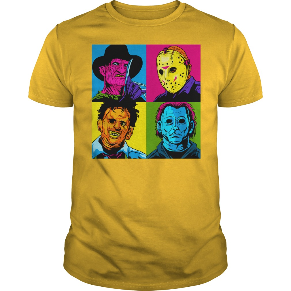 Jason Michael Horror Squad shirt guy tee