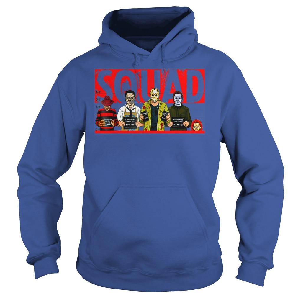 Jason Michael Horror Squad shirt hoodie