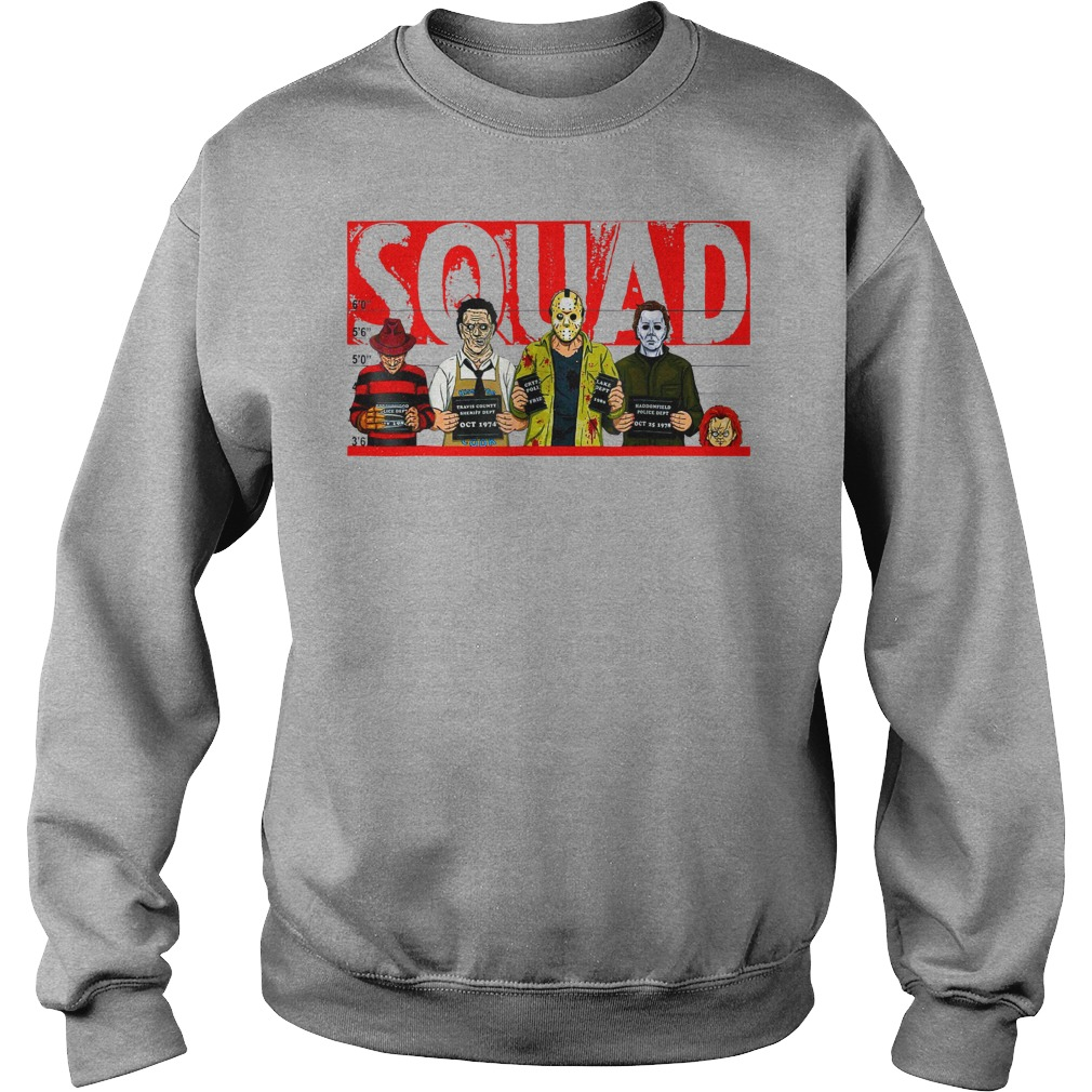 Jason Michael Horror Squad shirt sweat shirt