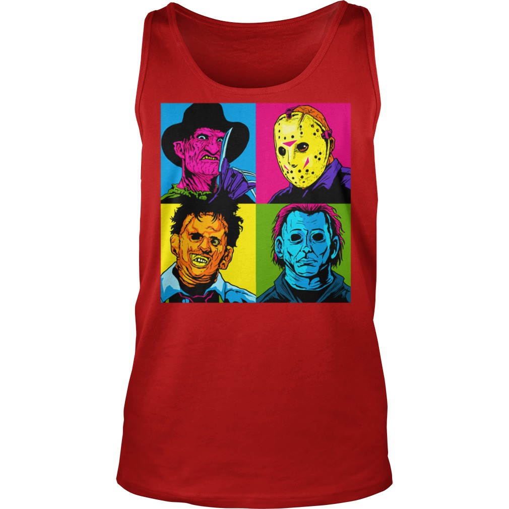 Jason Michael Horror Squad shirt unisex tank top