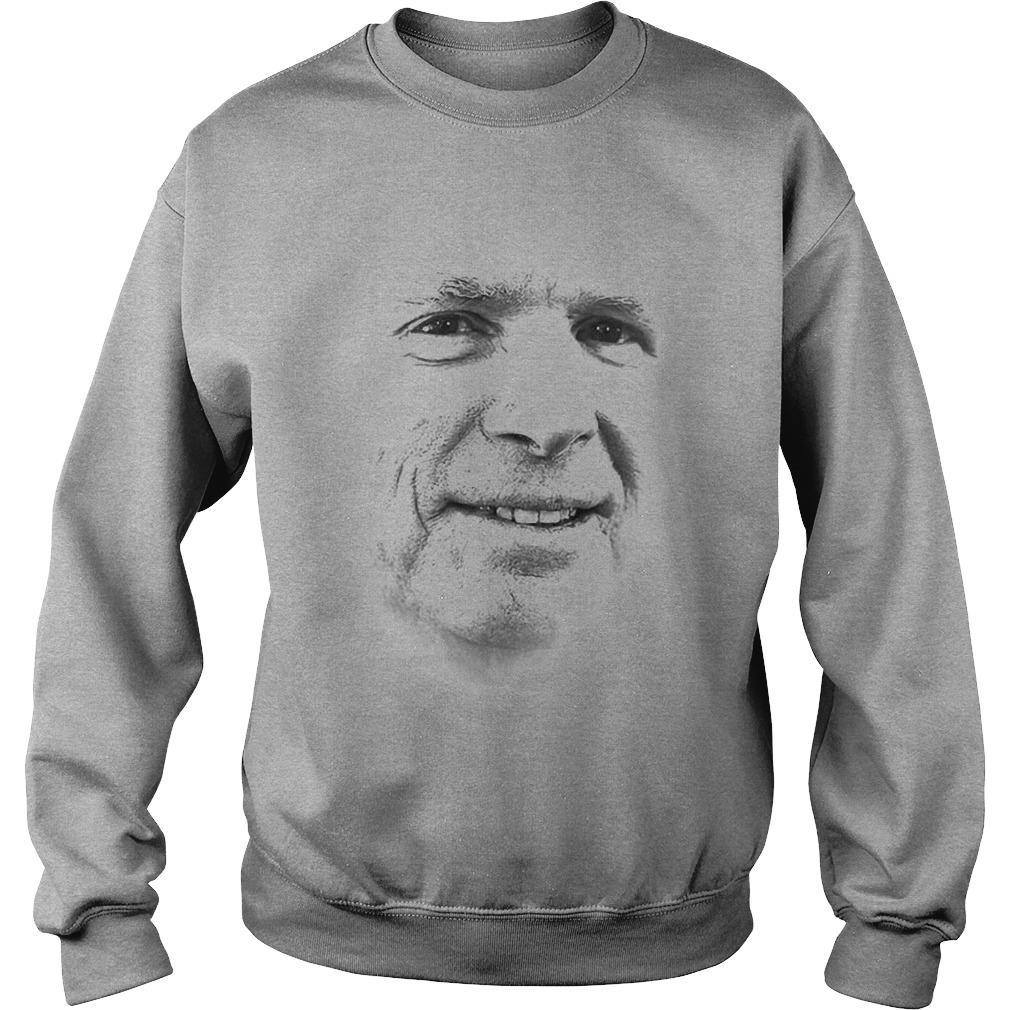 John McCain Portrait shirt sweat shirt