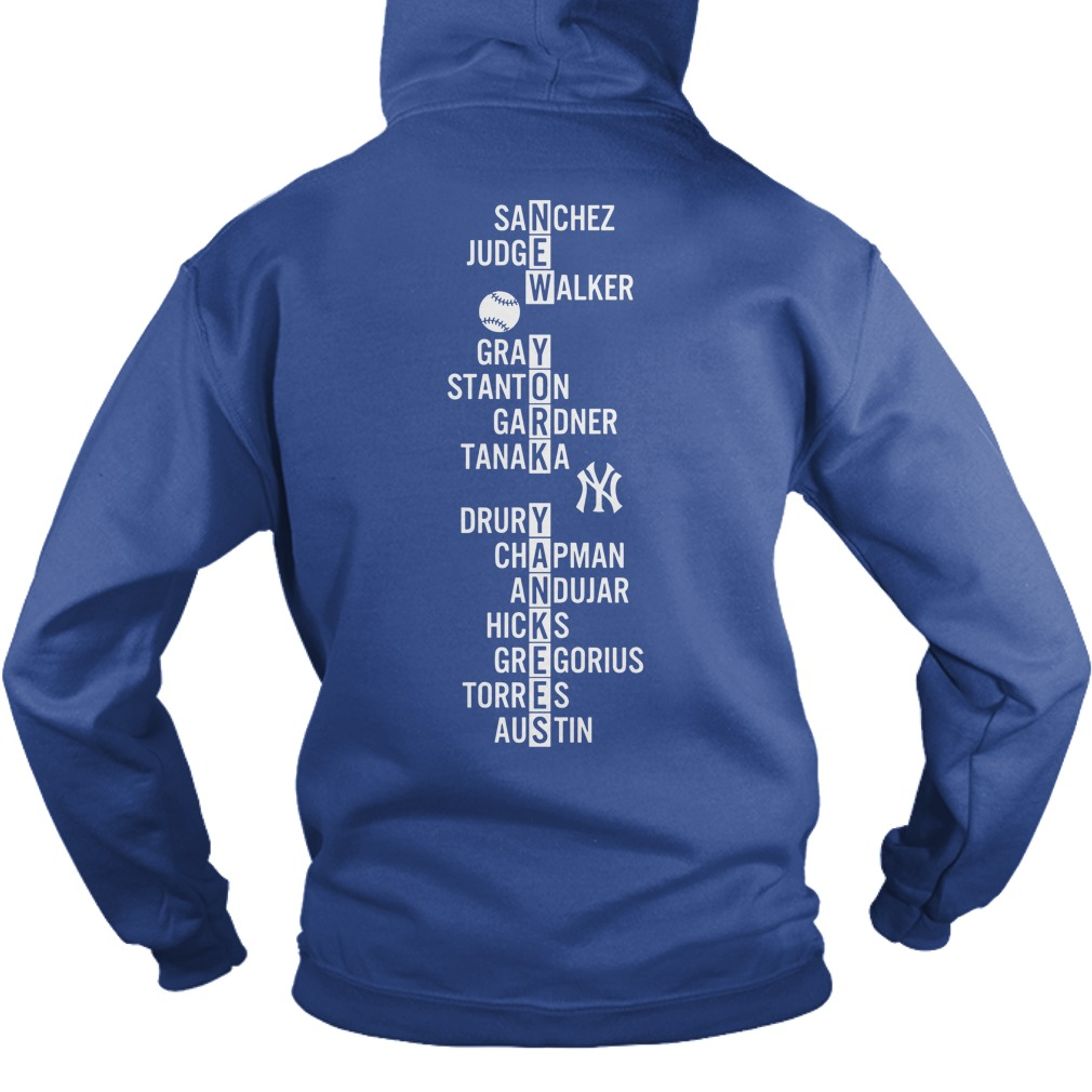 Major New York Yankees Greats shirt hoodie