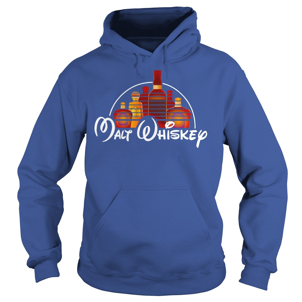 Malt whiskey shirt hoodie - walt disney shirt