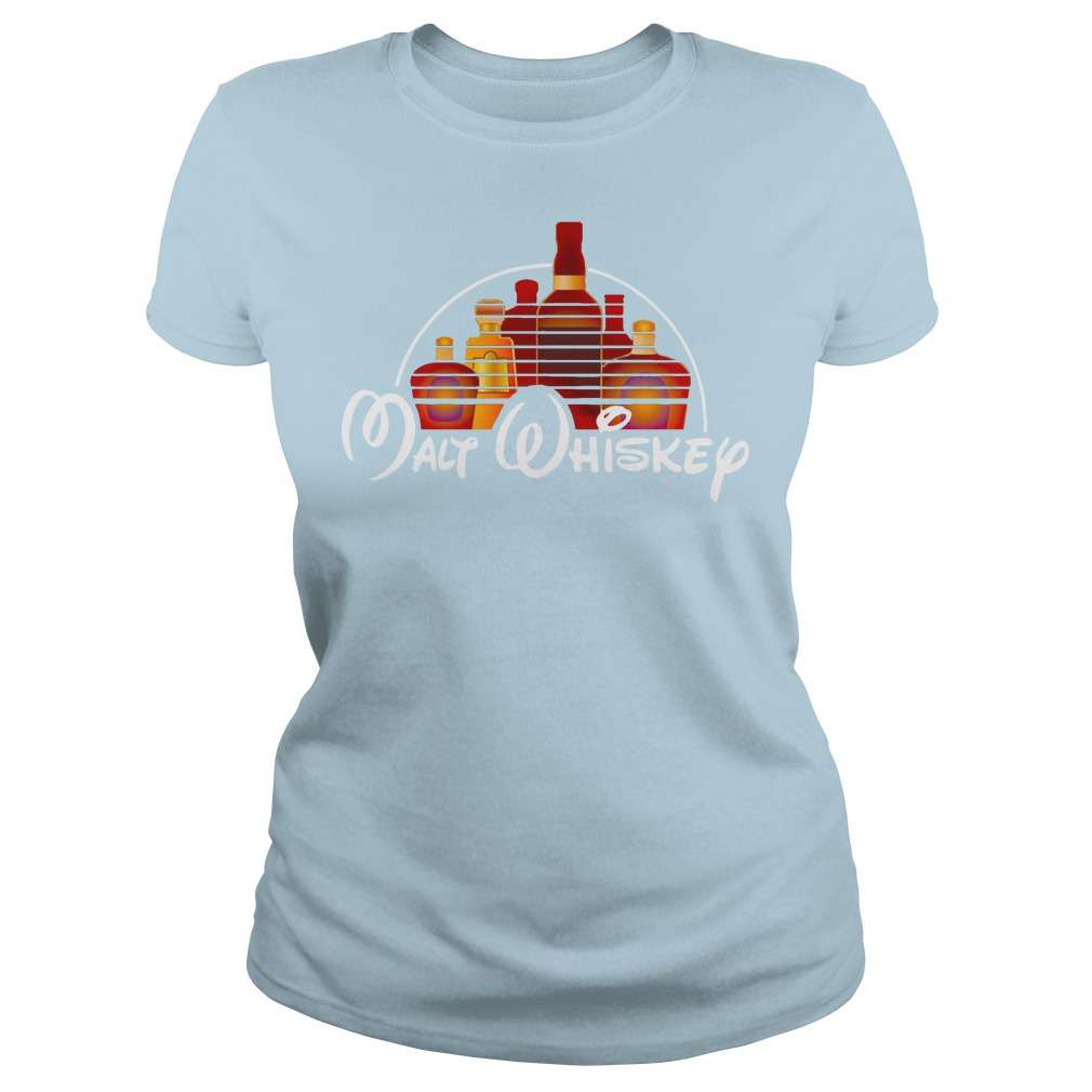 Malt whiskey shirt lady tee - walt disney shirt