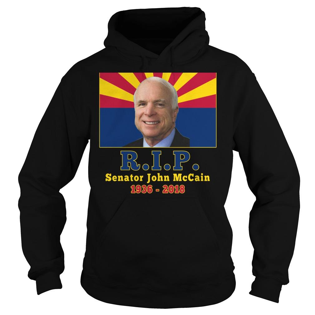 Rip John McCain 1936 2018 shirt hoodie - Rip John McCain shirt