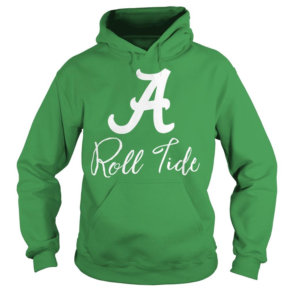 Alabama Crimson Tide Ruffle and Ready hoodie
