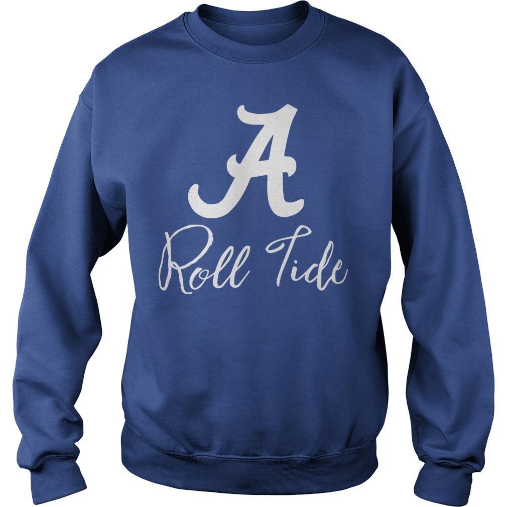 Alabama Crimson Tide Ruffle and Ready sweat shirt