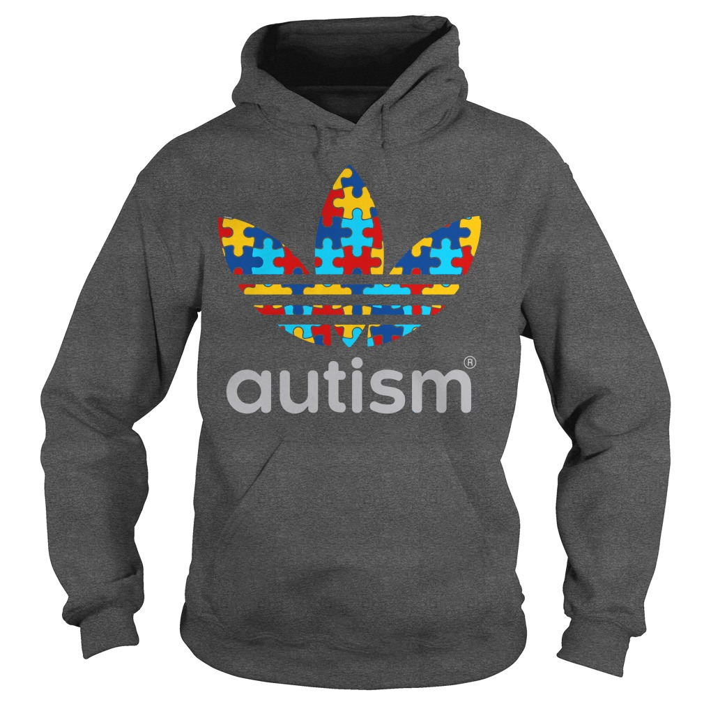 Autism Awareness Adidas shirt hoodie