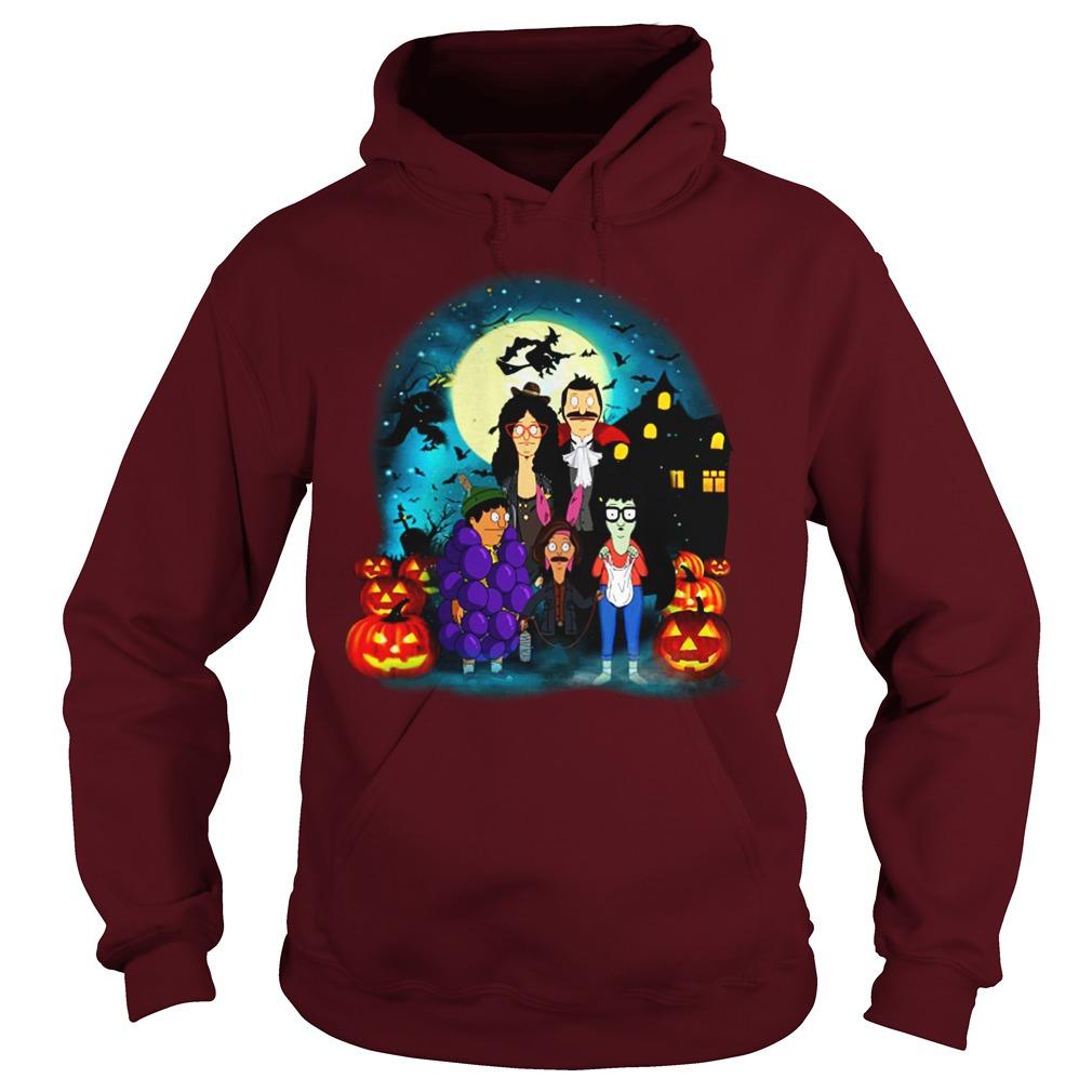 Bob's Burgers Belcher Family Halloween Pumpkins shirt hoodie