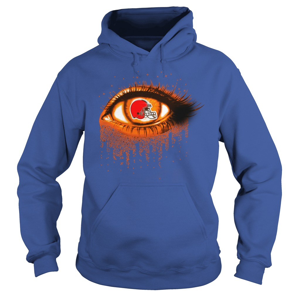 Cleveland Browns - Eye Glitter hoodie