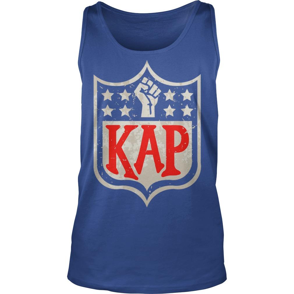 Colin Kaepernick Kap NFL shield shirt unisex tank top