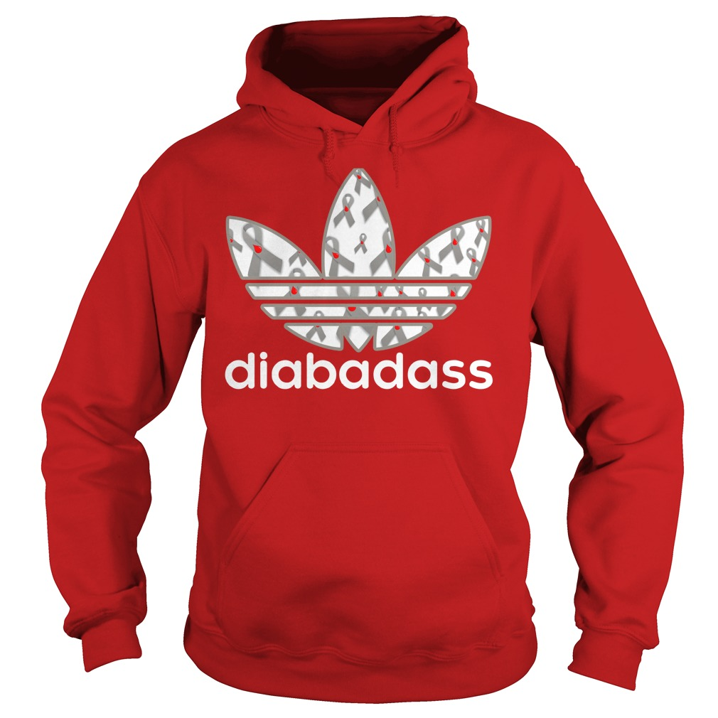 Diabadass adidas diabetes shirt hoodie