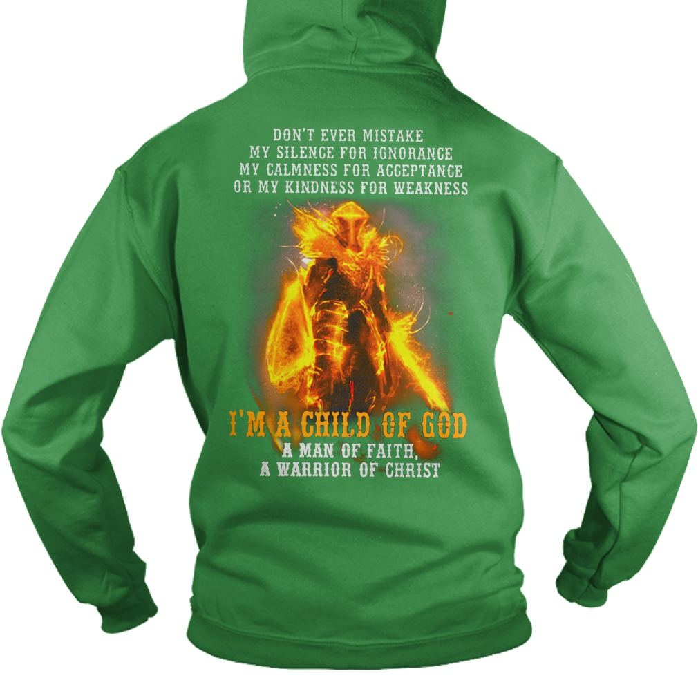 Don't ever mistake my silence for ignorance my calmness for acceptance shirt hoodie