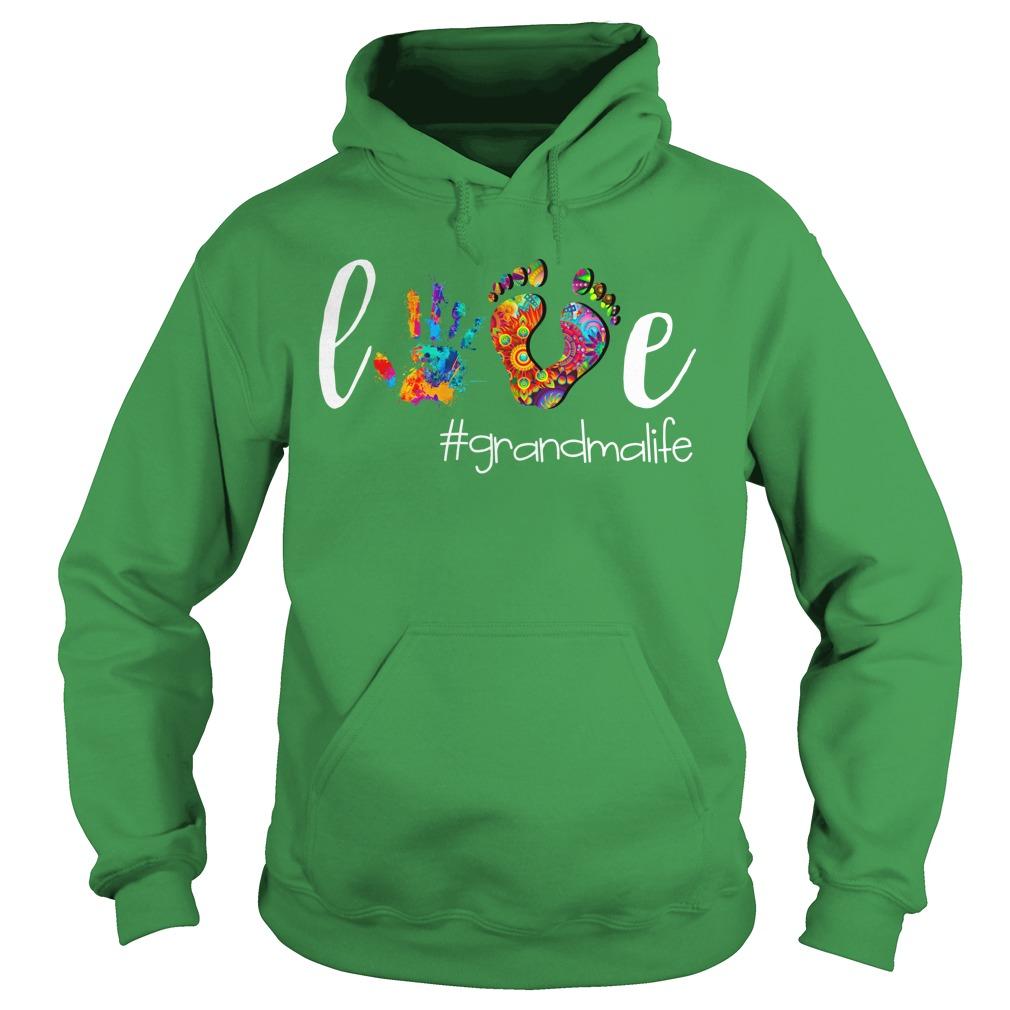 Grandma Love GrandmaLife shirt hoodie