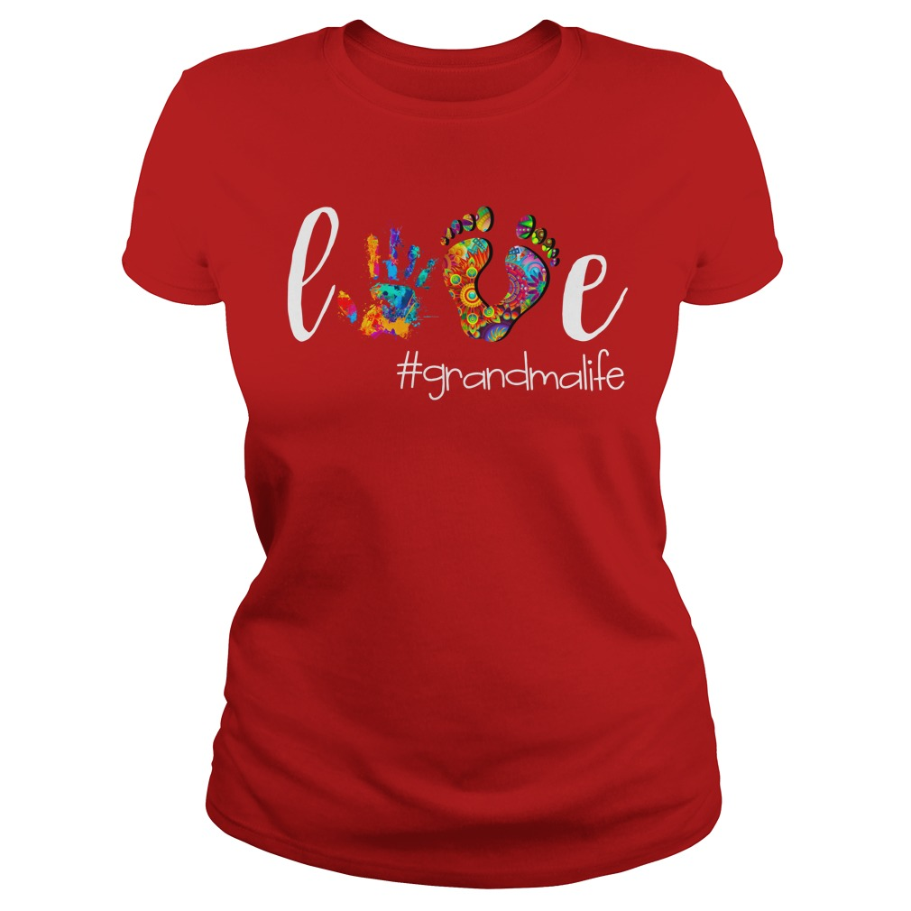 Grandma Love GrandmaLife shirt lady tee