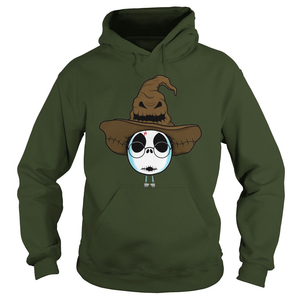 Halloween Jack Skellington as Harry Potter shirt hoodie