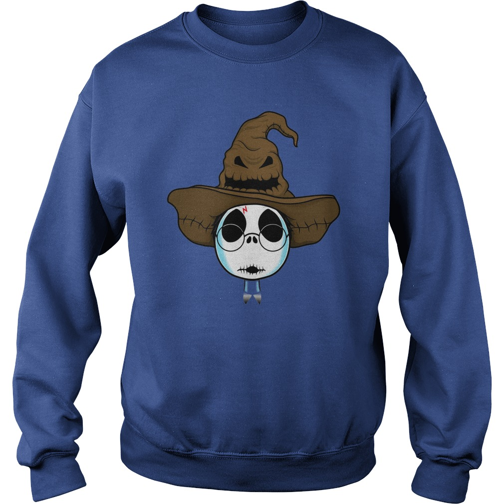 Halloween Jack Skellington as Harry Potter shirt sweat shirt