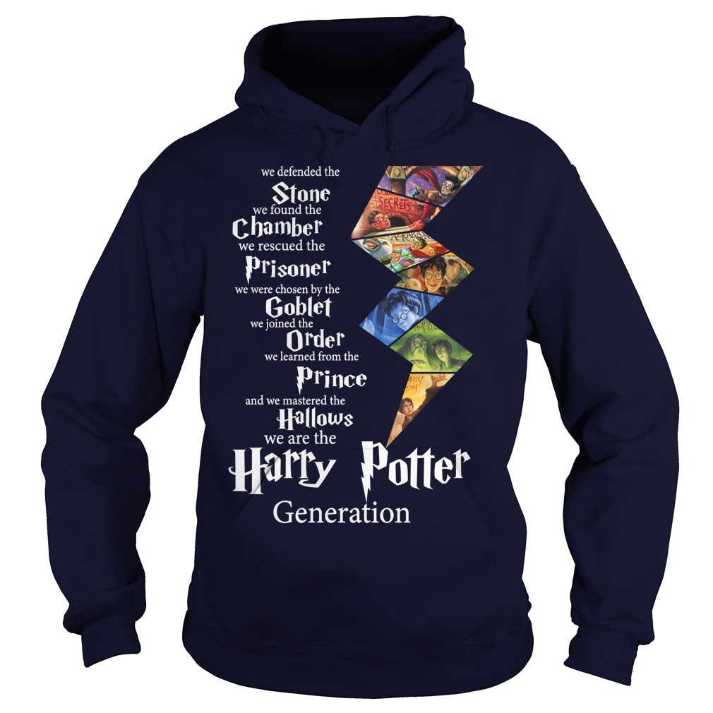 Harry Potter generation Stone chamber prisoner goblet order prince hallows shirt hoodie - Harry Potter generation Stone chamber shirt