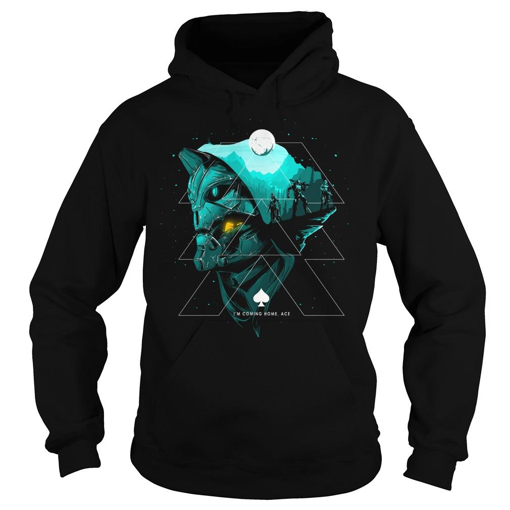 Hunter Guardian I'm coming home ace shirt hoodie