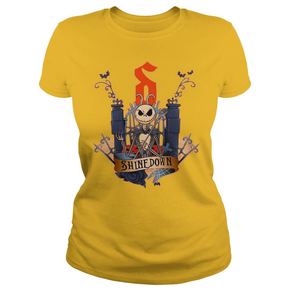 Jack Skellington shirt lady tee
