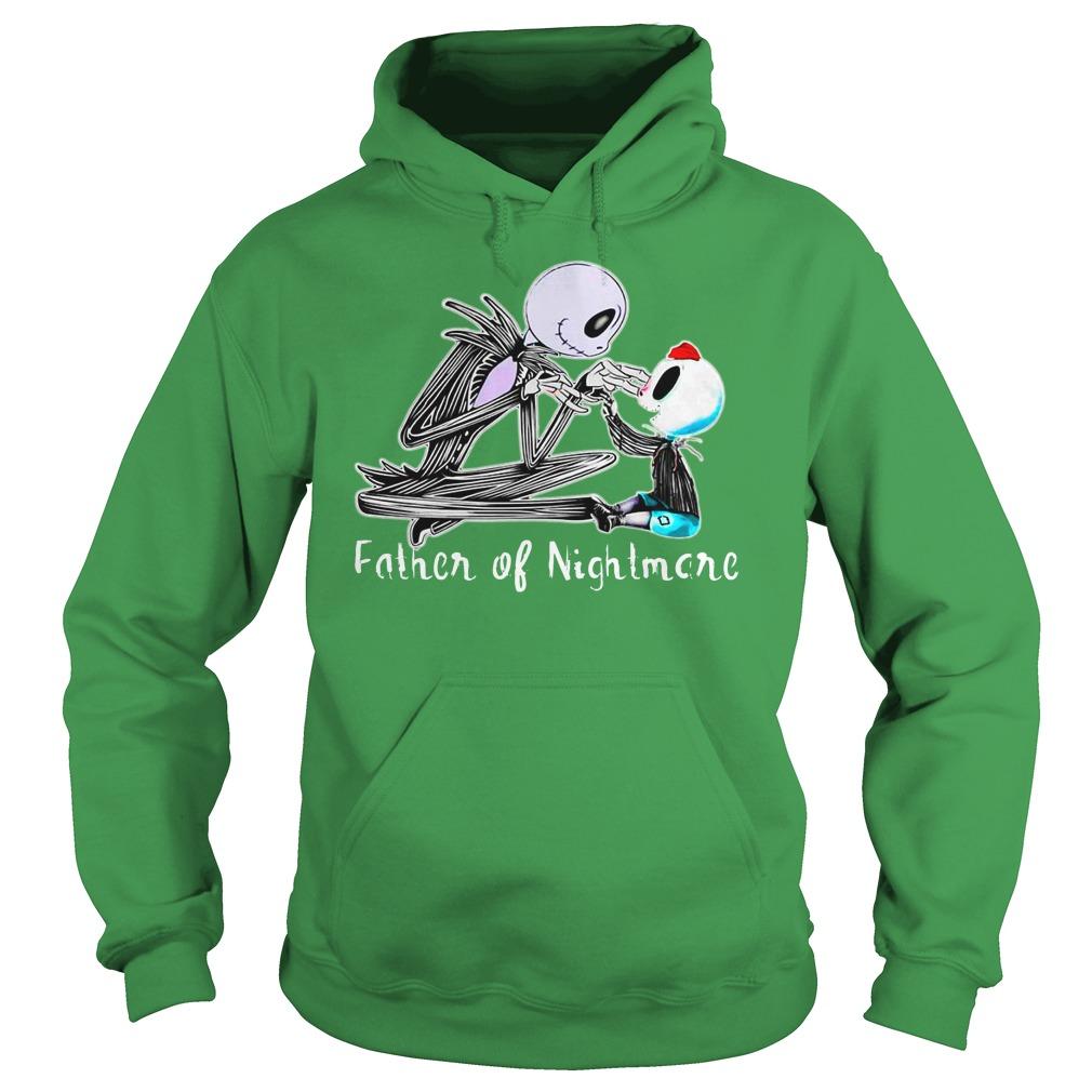 Jack skellington one boy father of nightmares shirt hoodie