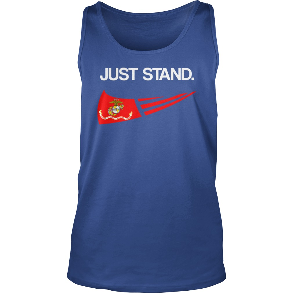 Just Stand United States Marine Corps shirt unisex tank top